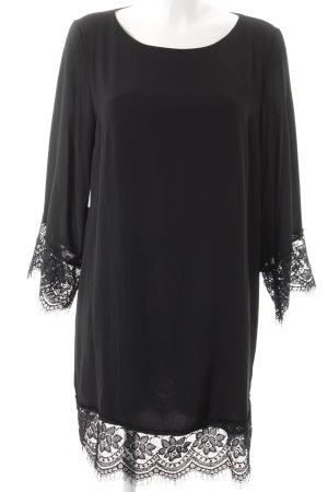 Amy Vermont Kanten jurk zwart elegant