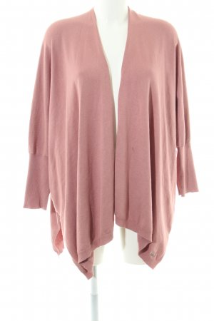 Amy Vermont Knitted Cardigan pink casual look