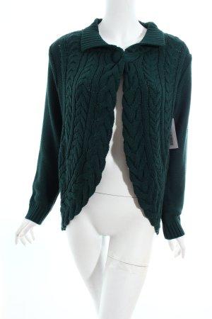 Amy Vermont Strickbolero waldgrün Casual-Look