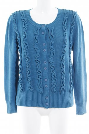 Amy Vermont Strickjacke petrol Casual-Look