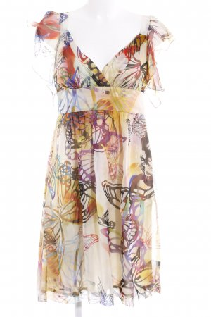 Ana Alcazar A Line Dress abstract pattern beach look
