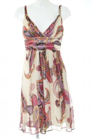 Ana Alcazar A Line Dress abstract pattern casual look