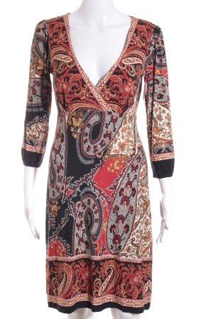 Ana Alcazar A-Linien Kleid florales Muster Gypsy-Look