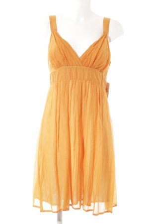 Ana Alcazar A-Linien Kleid orange Casual-Look
