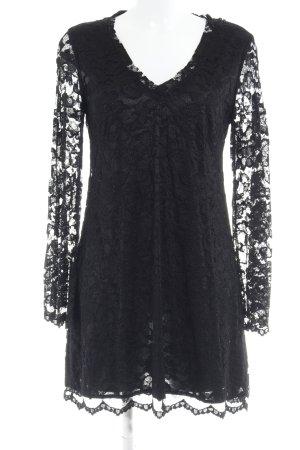 Ana Alcazar Vestido línea A negro elegante