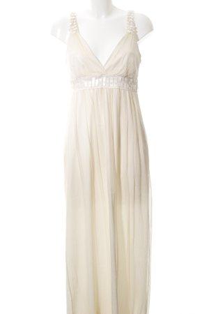 Ana Alcazar Evening Dress cream elegant