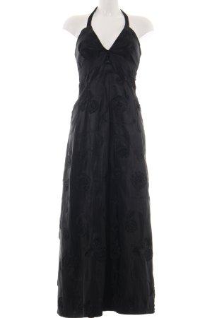 Ana Alcazar Evening Dress black allover print casual look
