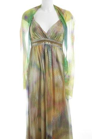 Ana Alcazar Abendkleid abstrakter Druck Elegant