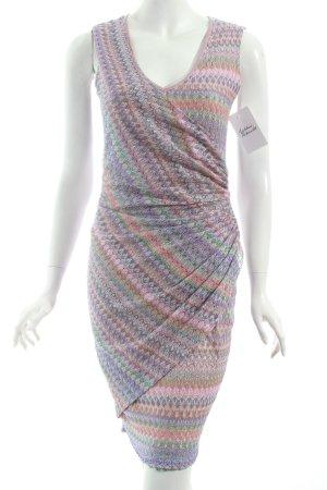Ana Alcazar Abendkleid abstraktes Muster Casual-Look