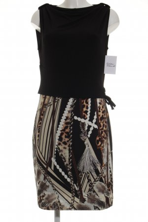 Ana Alcazar Abendkleid abstraktes Muster Elegant