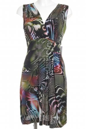 Ana Alcazar Abendkleid abstraktes Muster klassischer Stil