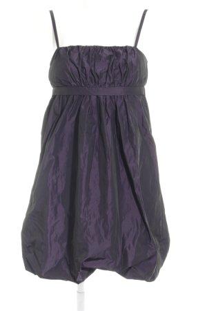 Ana Alcazar Abendkleid braunviolett Glanz-Optik