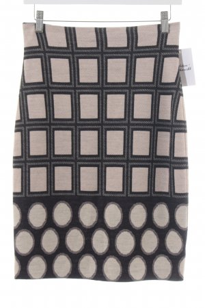 Ana Alcazar Pencil Skirt abstract pattern classic style