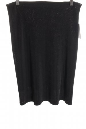 Ana Alcazar Pencil Skirt black-gold-colored elegant