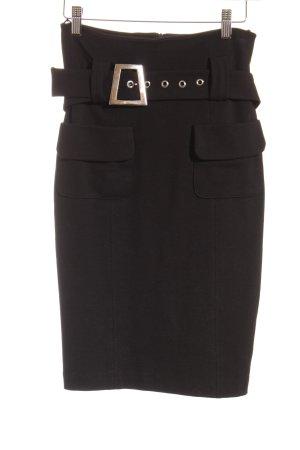 Ana Alcazar Pencil Skirt black simple style