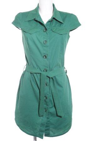 Ana Alcazar Blusenkleid grün Casual-Look