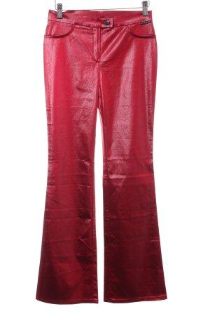 Ana Alcazar Boot Cut Jeans dunkelrot extravaganter Stil