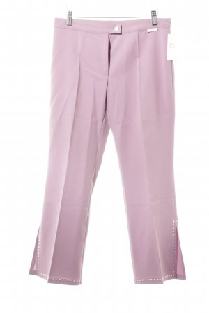 Ana Alcazar Pleated Trousers mauve elegant