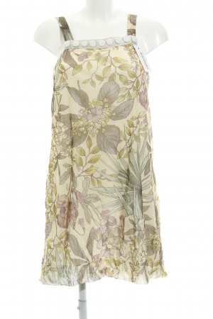 Ana Alcazar Chiffonkleid Blumenmuster Gypsy-Look