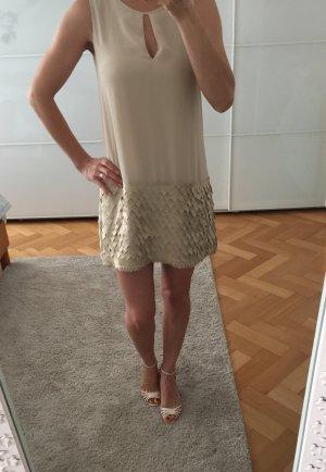 Ana Alcazar Vestido crema