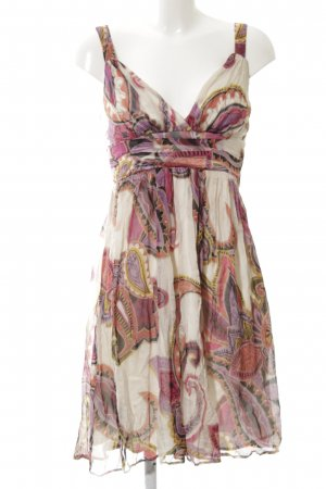 Ana Alcazar Empire Dress floral pattern casual look