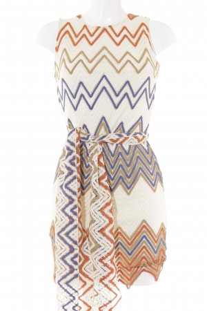 Ana Alcazar Sheath Dress loosely knitted pattern '70s style