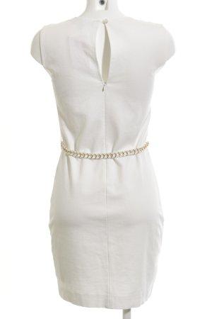 Ana Alcazar Etuikleid weiß-wollweiß Elegant