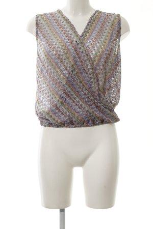 Ana Alcazar Crochet Top allover print casual look
