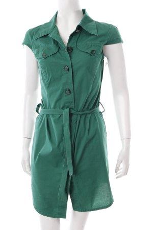 Ana Alcazar Hemdblusenkleid grün klassischer Stil