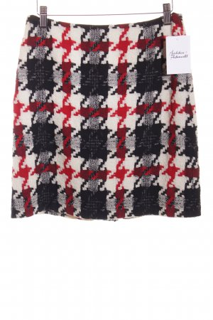 Ana Alcazar High Waist Rock Webmuster Patchwork-Optik