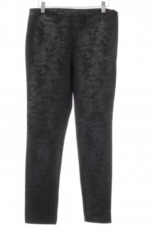 Ana Alcazar Jeggings black abstract print casual look