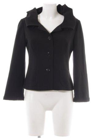 Ana Alcazar Jersey blazer zwart zakelijke stijl