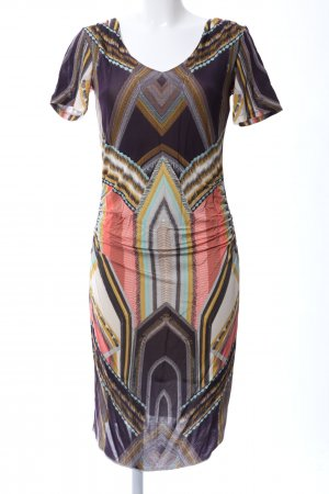 Ana Alcazar Jersey Dress abstract pattern casual look