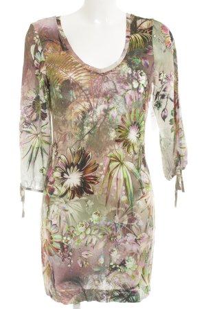 Ana Alcazar Jersey Dress flower pattern beach look