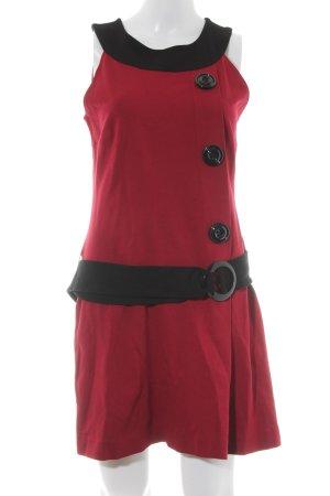 Ana Alcazar Jersey Dress bordeaux-black casual look