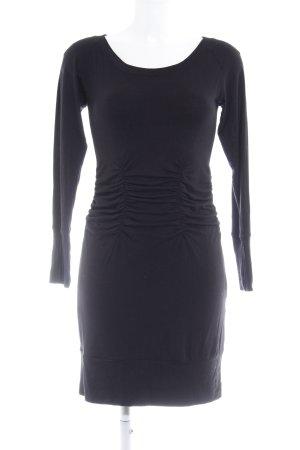Ana Alcazar Jerseykleid schwarz Casual-Look