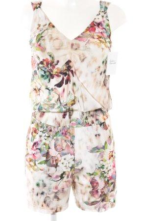 Ana Alcazar Jumpsuit flower pattern casual look
