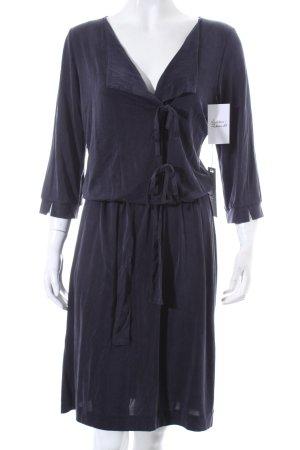 Ana Alcazar Kleid dunkelblau klassischer Stil