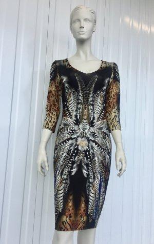 Ana Alcazar Midi Dress multicolored mixture fibre