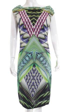 Ana Alcazar Kleid grafisches Muster Elegant