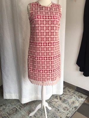Ana Alcazar A Line Dress natural white-raspberry-red