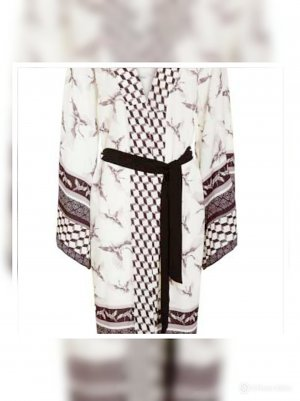 Ana Alcazar Kimono Blouse multicolored