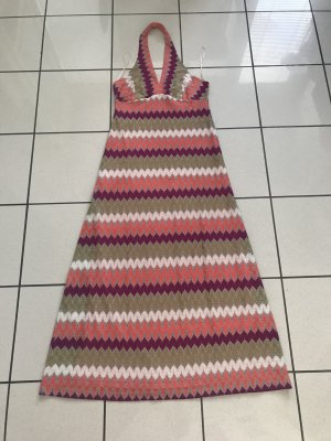 Ana Alcazar Halter Dress multicolored