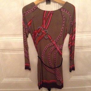 Ana Alcazar - Kleid mit edlem Muster und Gürtelchen!
