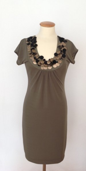 Ana Alcazar Sheath Dress green grey