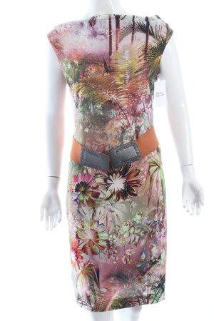 Ana Alcazar Vestido de tubo multicolor Viscosa