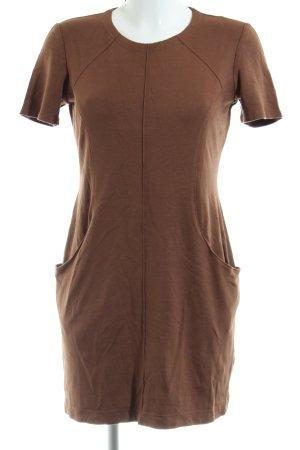Ana Alcazar Shortsleeve Dress brown casual look