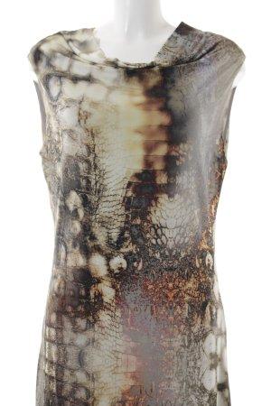 Ana Alcazar Kurzarmkleid abstraktes Muster Casual-Look