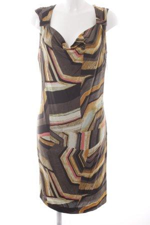 Ana Alcazar Shortsleeve Dress graphic pattern casual look