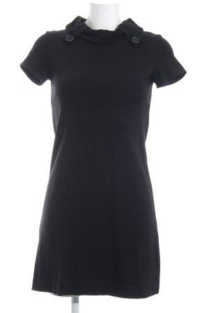 Ana Alcazar Kurzarmkleid schwarz klassischer Stil